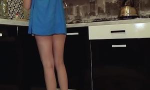Young teen sans breathe hard got caught on eavesdrop cam