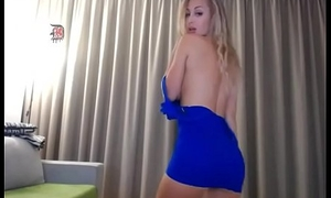 horny previously to wife massages and copulates her smooth muff unaffected by webcam like a slut