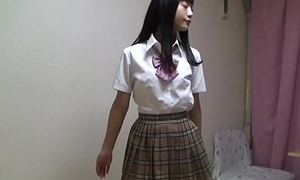 Japanese schoolgirl stripping completely bring to light