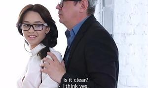 Tricky Elderly Omnibus - Sweetie gives her teacher mating satisfaction