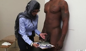 Arab suitor plays with 2 shafts